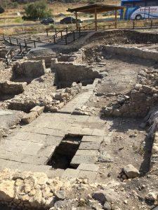 Magdala ruins