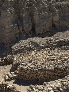 Meggido ruins Canaanite altar